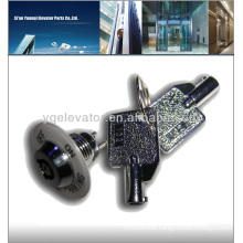 LG elevator station lock, door lock elevator parts, elevator door lock contact